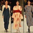 Fashion Week'te moda şov...