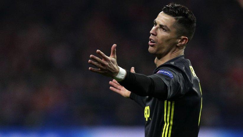 UEFA'dan Ronaldo'ya ceza