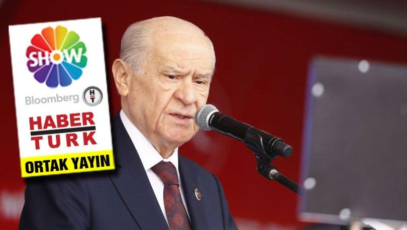 MHP Genel Başkanı Devlet Bahçeli ile özel röportaj ortak yayınla Show TV'de!