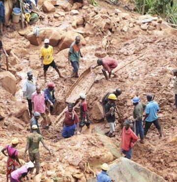 Tropikal felakette ölü sayısı: 417!