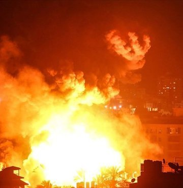 İsrail Hamas hedeflerini vuruyor