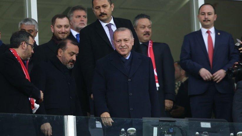 Cumhurbaşkanı Erdoğan'dan milli destek