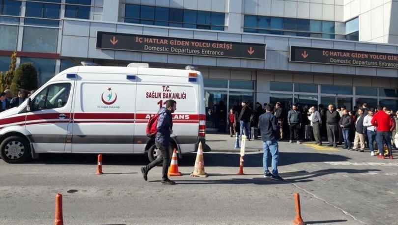 SON DAKİKA! Kayseri Havalimanı'nda silah sesleri: 2 yaralı