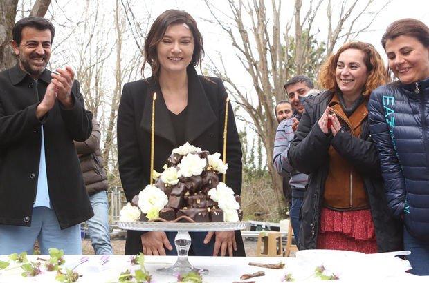 Nurgül'e sette yaş günü sürprizi!