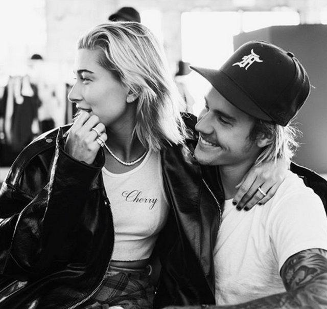 Justin Bieber eşi Hailey Baldwin'in yatakta çekilmiş pozunu paylaştı - Magazin haberleri