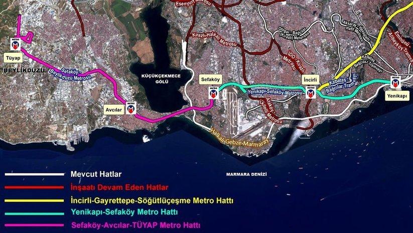 Yeni metro projesi yola çıktı
