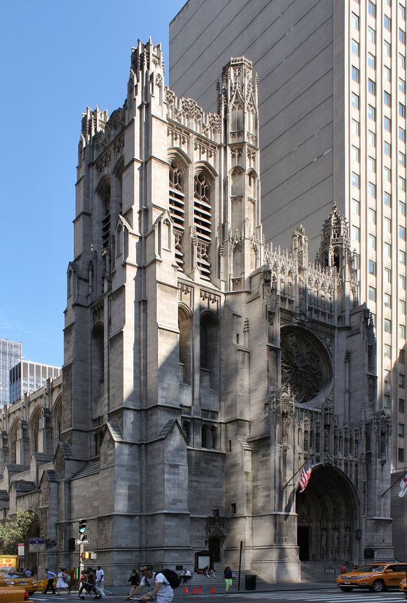 New York 5. Cadde'deki St. Thomas Kilisesi