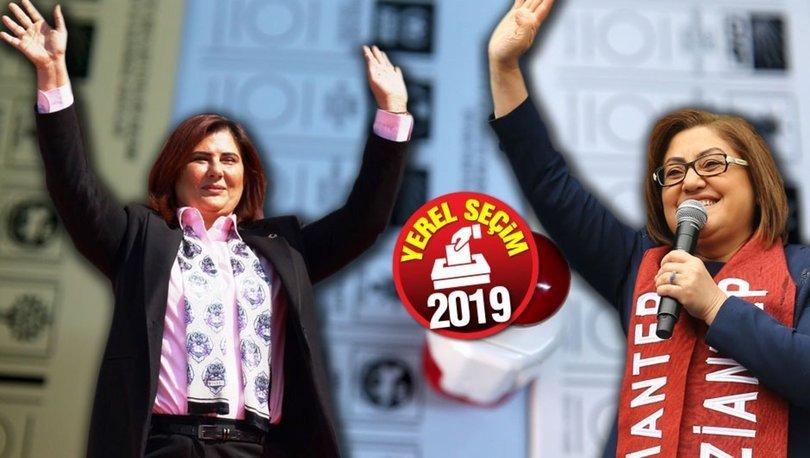 2019 Kadın belediye başkan adayları