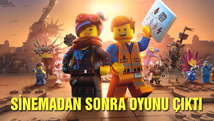 LEGO Filmi 2 oyun ile evlere girdi!
