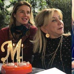 Yeni yaşını kutlamalara doyamadı