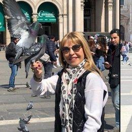 Anne-kız Milano'da alışverişte...