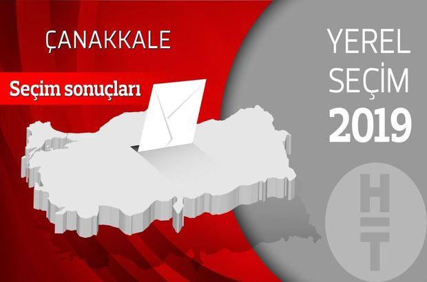 Çanakkale seçim sonuçları açıklandı!