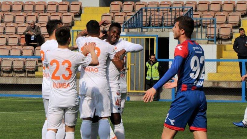 Karabükspor: 0 - Adanaspor: 1   MAÇ SONUCU