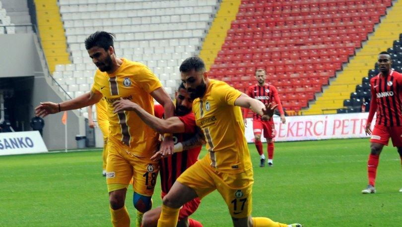 Gazişehir Gaziantep: 1 - Afjet Afyonspor: 0 | MAÇ SONUCU