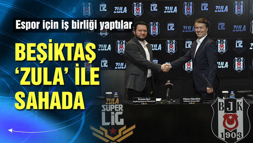 Beşiktaş 'Zula' ile sahaya indi