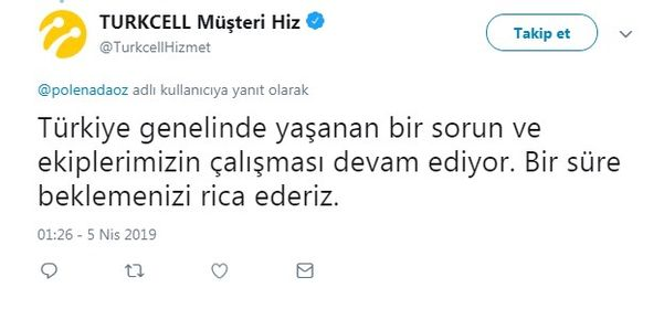 Turkcell Superonline Internet Neden Yok Turkcellden Açıklama
