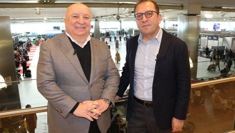TAV İcra Kurulu Başkanı Sani Şener, Atatürk Havalimanı'ndaki son röportajını Güntay Şimşek'le yaptı