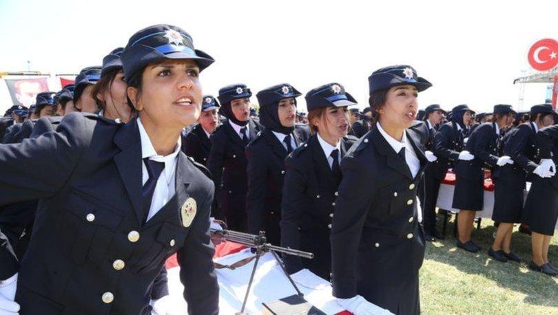 Kadın polis alımı