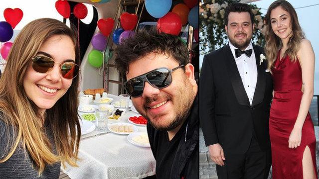 Eser Yenenler ile Berfu Yıldız nişanlandı - Magazin haberleri