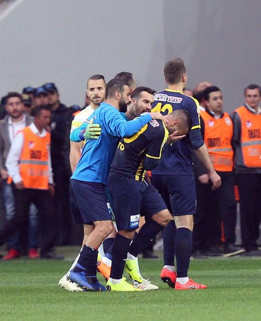 Ankaragücü - Fenerbahçe maçında büyük gerilim