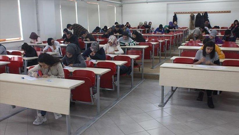 'Yükseköğretimde Dijital Dönüşüm Projesi'nde ilk sınav yapıldı