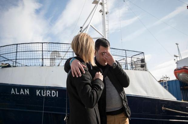 64 göçmeni taşıyan 'Alan Kurdi' gemisi 5 gündür denizde bekletiliyor