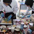 Lise öğrencileri lezzetleri için yarıştı