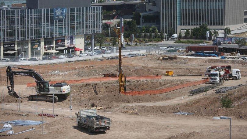 ABD Ankara Büyükelçiliği inşaatı