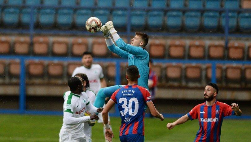Kardemir Karabükspor: 0 - Giresunspor: 0 | MAÇ SONUCU