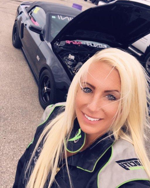 Sosyal medyayı sallayan araba tamircisi Malorie Woods