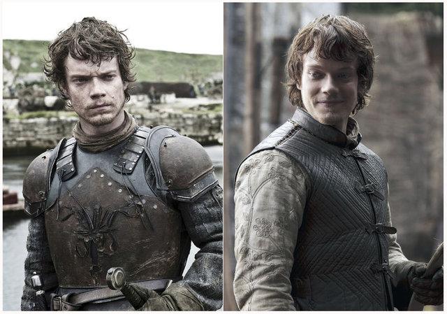 Game of Thrones oyuncularının değişimleri