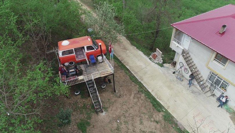 Minibüsten ev