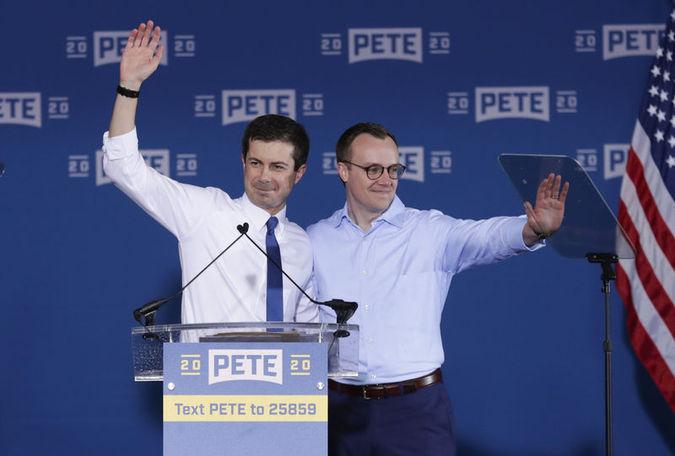 Pete Buttigieg ve eşi Chasten Glezman..