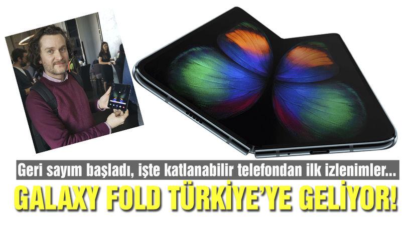 Galaxy Fold Türkiye'ye geliyor!