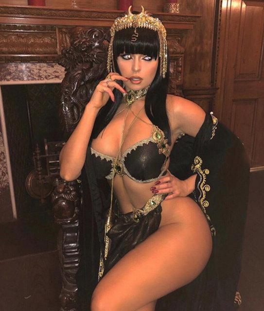 Demi Rose, Kleopatra oldu - Magazin haberleri