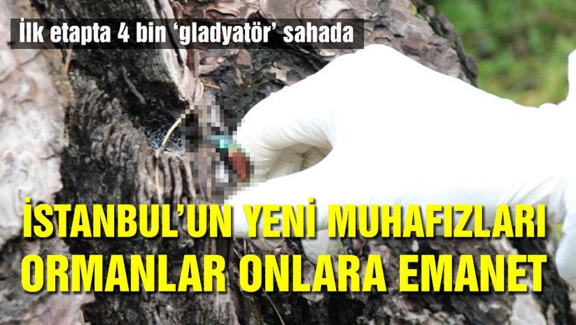 İstanbul'un yeni muhafızları!