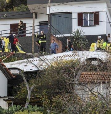 Portekiz'de trafik kazası! 28 Alman turist öldü