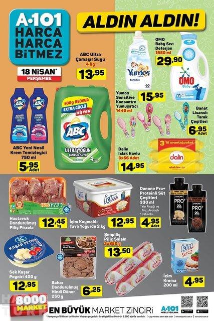 A101 aktüel ürünler bugün satışa çıktı! Bugün A101'de hangi ürünler indirimli? A101 18 Nisan kataloğu