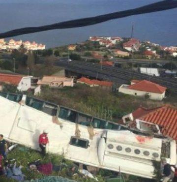 Portekiz'de korkunç kaza: 29 kişi öldü!
