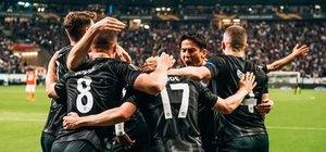 Frankfurt, Benfica'yı eledi!