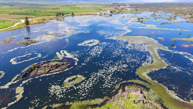 Kayaların arasındaki saklı cennet: Haydarlar Gölü