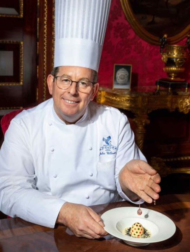 Londra Rizt mutfağından Paskalya için Faberge Yumurtası...