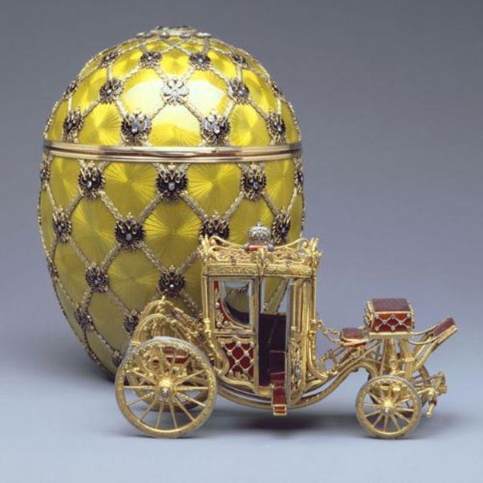 Faberge Yumurtası içinde Çar'ın arabası...