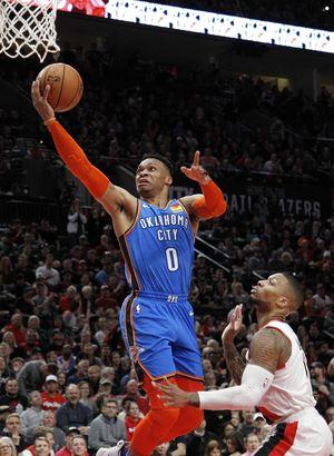 Oklahoma City Thunder seride ilk galibiyetini aldı