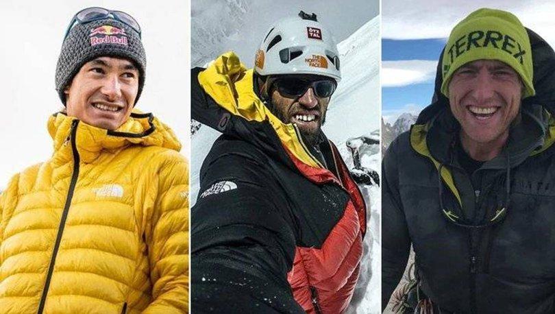 dünyanın en iyi 3 dağcısı kayboldu