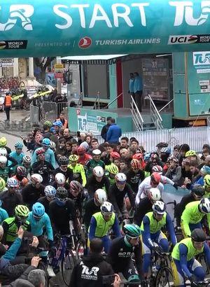 55. Cumhurbaşkanlığı Türkiye Bisiklet Turu'nun beşinci etabı Bursa'da başladı