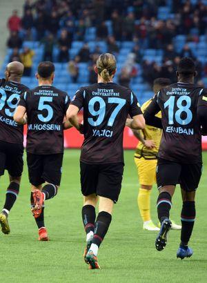 Trabzonspor: 2 - Yeni Malatyaspor: 1 | MAÇ SONUCU