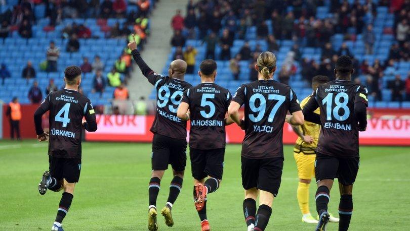 Trabzonspor - Yeni Malatyaspor maçı