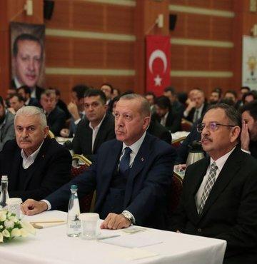 Cumhurbaşkanı Recep Tayip Erdoğan, AK Parti İstanbul İl Başkanlığı