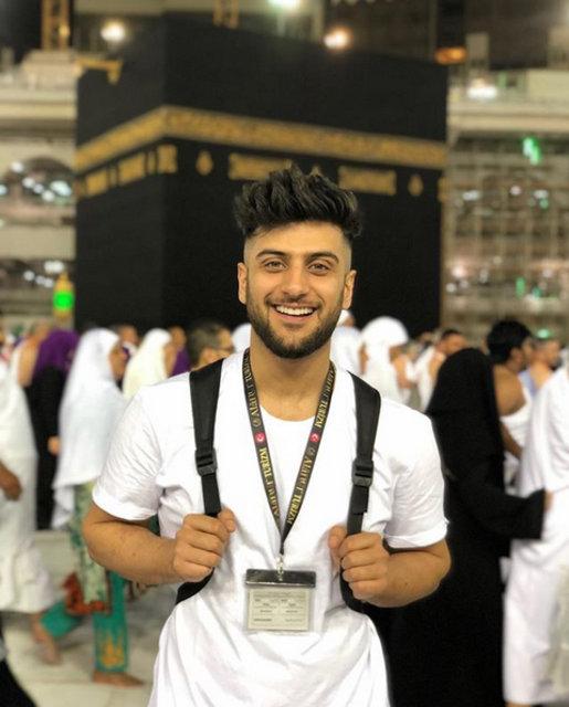 Reynmen lakaplı sosyal medya fenomeni Yusuf Aktaş kutsal topraklarda - Magazin haberleri